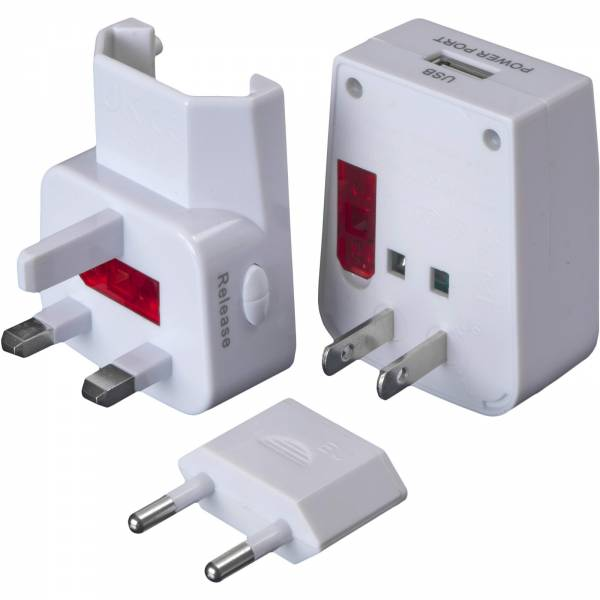 Basic Nature Universal USB Steckeradapter - Bild 1