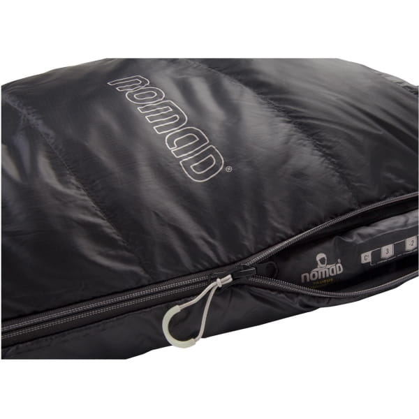 NOMAD Taurus Comfort 550 - Schlafsack dark grey - Bild 5