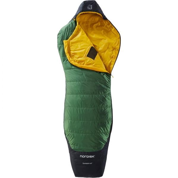 Nordisk Gormsson +10° Curve - Sommerschlafsack artichoke green-mustard yellow-black - Bild 3