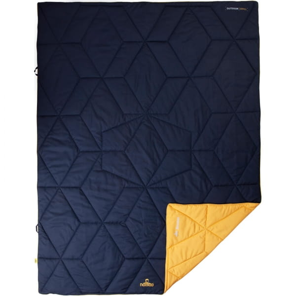 NOMAD Aztec Blanket - Kunstfaserdecke dark navy - Bild 1