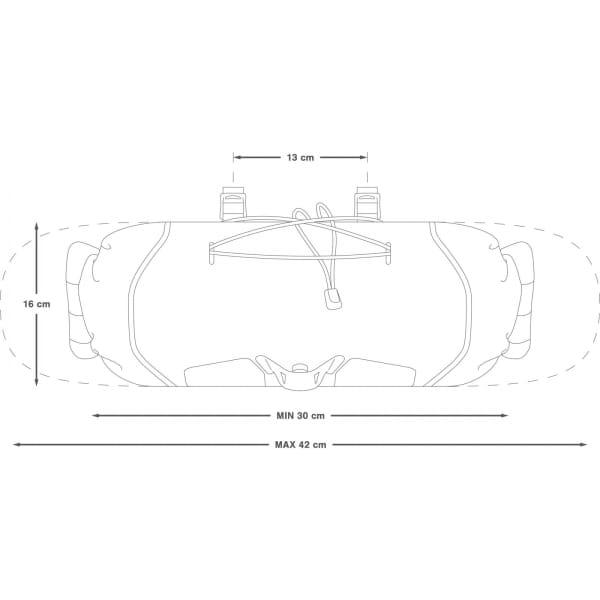 Apidura Backcountry Handlebar Pack 7 L - Lenkertasche - Bild 3