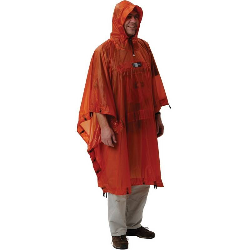EXPED Bivy Poncho UL - Rucksackponcho terracotta