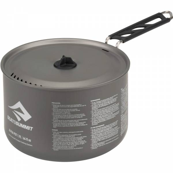 Sea to Summit Alpha Pot 1.9L - Aluminium-Kochtopf - Bild 3