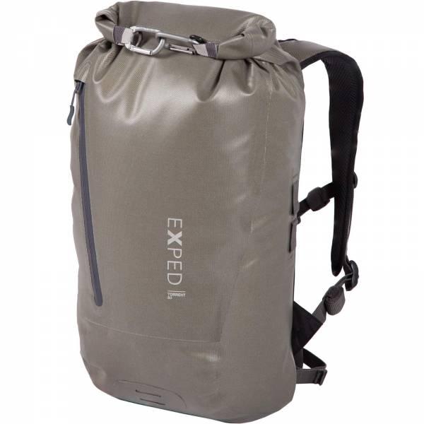 EXPED Torrent 20 - Rolltop-Daypack olive grey - Bild 7