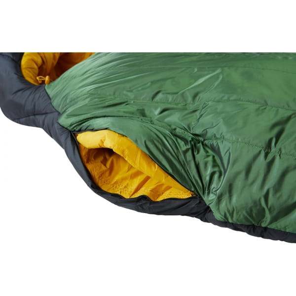 Nordisk Gormsson -10° Mummy - Winterschlafsack artichoke green-mustard yellow-black - Bild 13