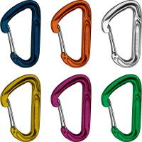 Mammut Wall Light 6er Pack - Wire Gate Karabiner