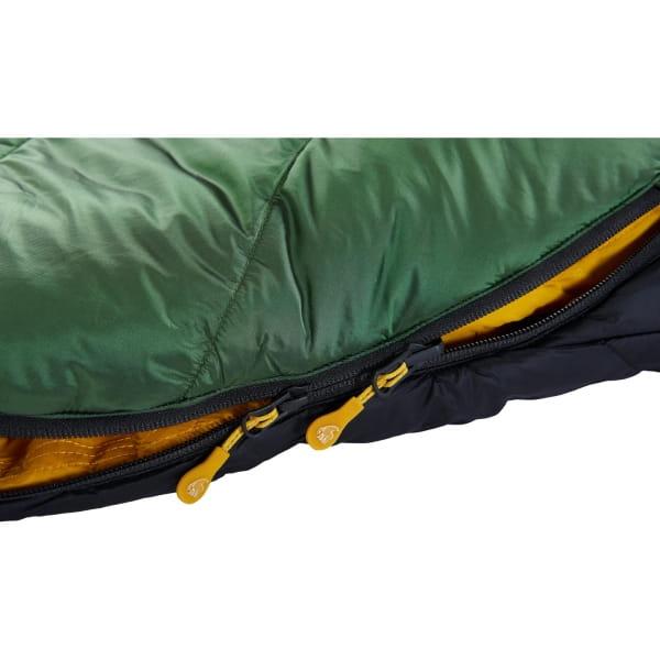 Nordisk Gormsson -2° Mummy - 3-Jahreszeiten-Schlafsack artichoke green-mustard yellow-black - Bild 10