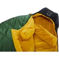 Vorschau: Nordisk Gormsson -2° Curve - 3-Jahreszeiten-Schlafsack artichoke green-mustard yellow-black - Bild 5