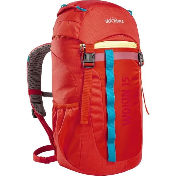 Tatonka Wokin 15 - Kinder-Rucksack red orange - Bild 5