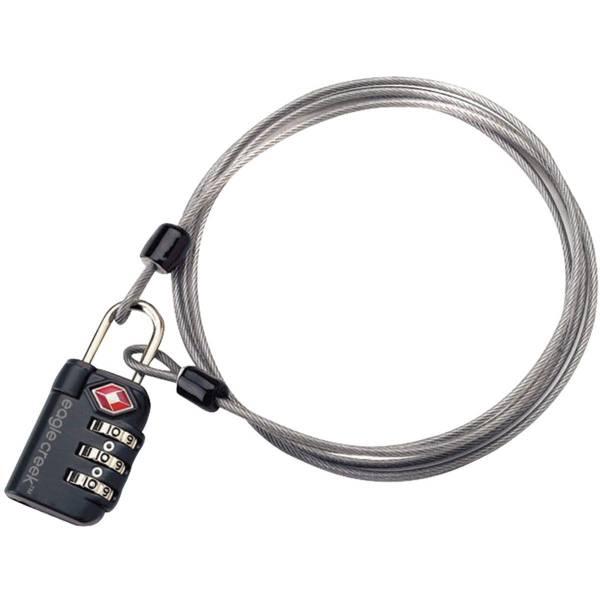 Eagle Creek 3-Dial TSA Lock® & Cable - Schloss graphite - Bild 1