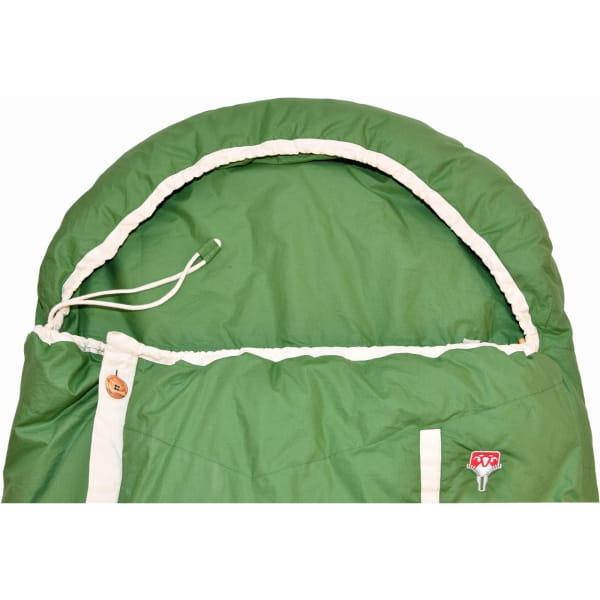 Grüezi Bag Biopod DownWool Nature Comfort  - Daunen- & Wollschlafsack basil green - Bild 3
