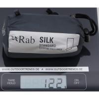 Vorschau: Rab Silk Standard Sleeping Bag Liner - Innenschlafsack slate - Bild 2