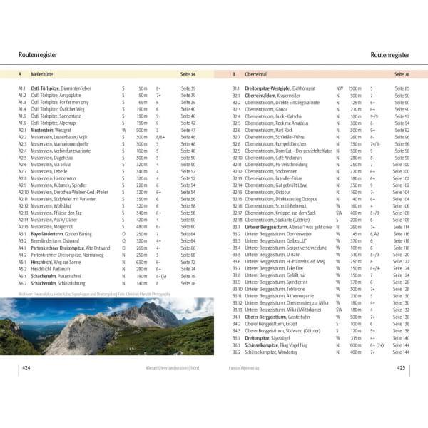 Panico Verlag Wetterstein Nord - Kletterführer Alpin - Bild 11