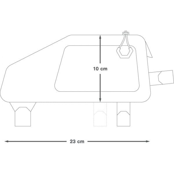 Apidura Backcountry Top Tube Pack 1,0 L - Oberrohrtasche - Bild 3