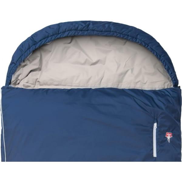 Grüezi Bag Biopod Wolle Murmeltier Comfort XXL - Deckenschlafsack night blue - Bild 6