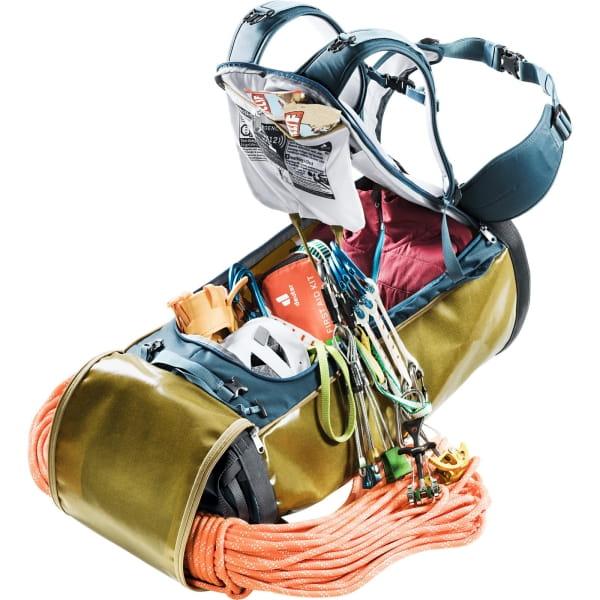 deuter Gravity Wall Bag 50 - Bigwall-Rucksack clay-arctic - Bild 8