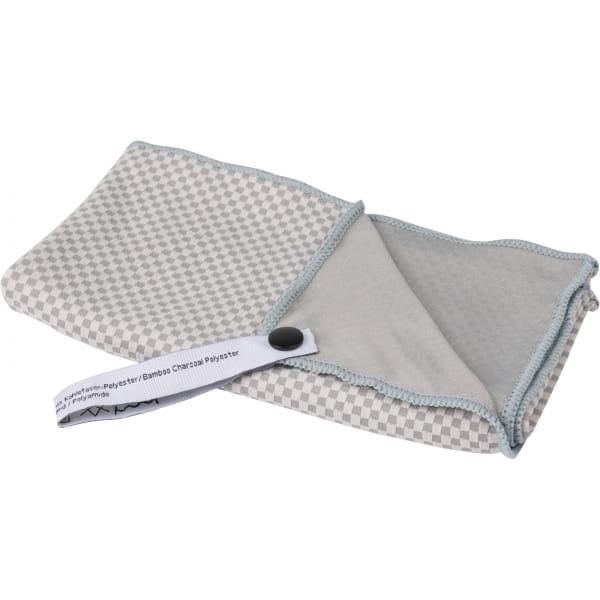 Tatonka Travel Towel Bamboo L - Funktionshandtuch grey - Bild 1