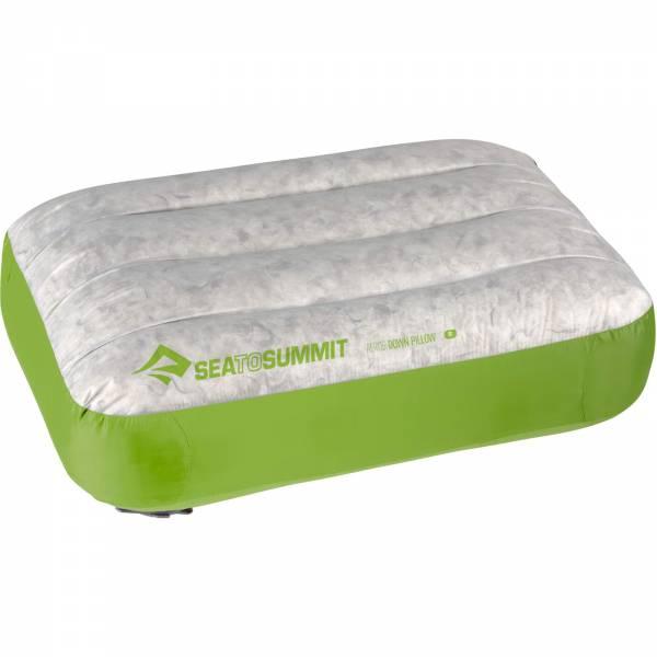 Sea to Summit Aeros Pillow Down Regular - Kopfkissen lime - Bild 5