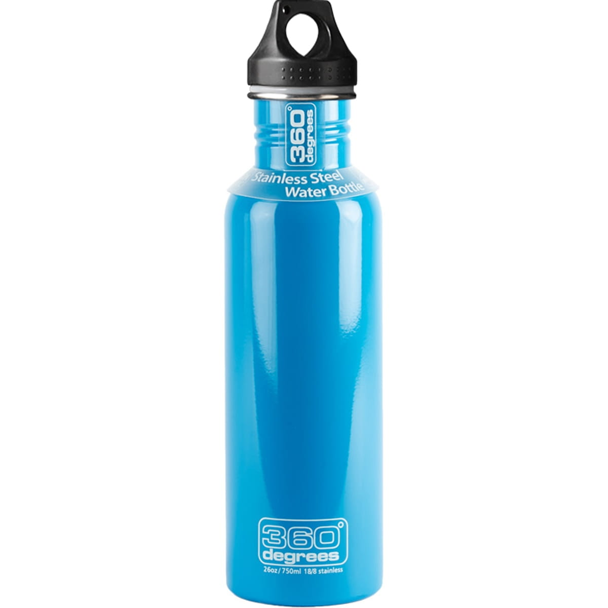 360° degrees Stainless Drink Bottle - 750 ml - Trinkflasche sky blue
