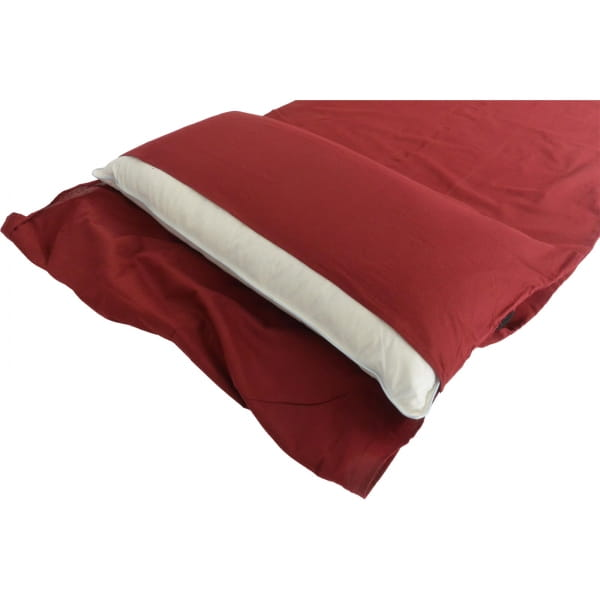 Origin Outdoors Sleeping Liner Baumwolle - Deckenform bordeaux - Bild 13