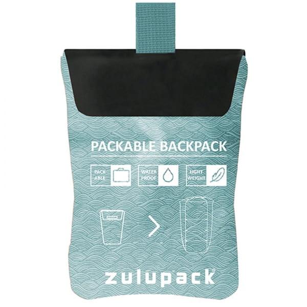 zulupack Packable 17 - Rucksack grey-blue - Bild 6