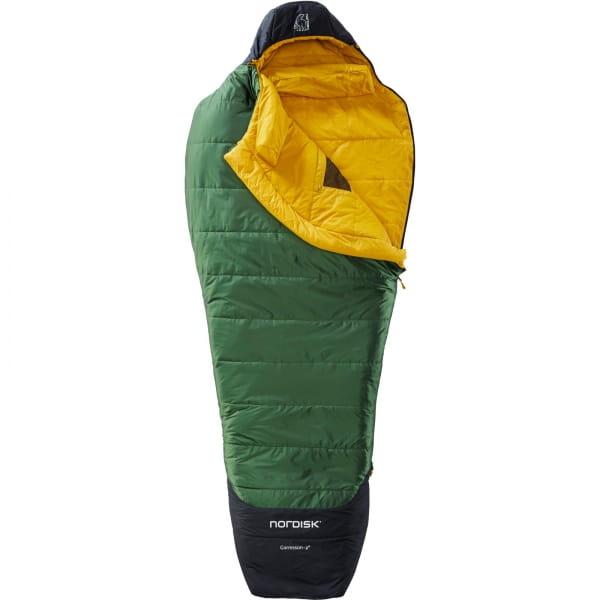 Nordisk Gormsson -2° Mummy - 3-Jahreszeiten-Schlafsack artichoke green-mustard yellow-black - Bild 4