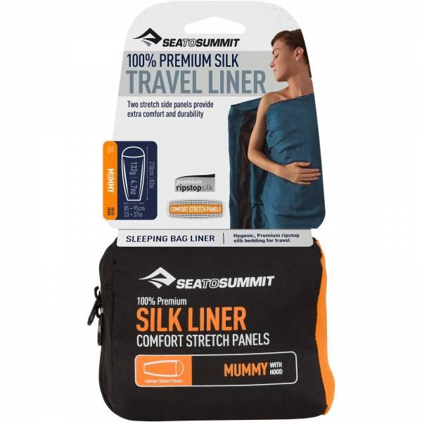 Sea to Summit Silk Stretch Liner Mummy Hood - Bild 1