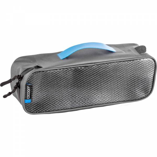 COCOON Packing Cube with Laminated Net Top S - Packtasche grey-black - Bild 1