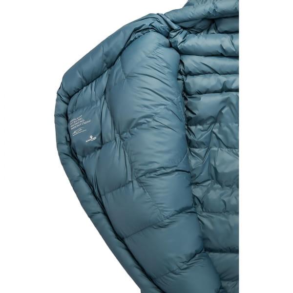 Grüezi Bag Biopod Down Hybrid Ice Cold - Daunen- & Wollschlafsack platin grey - Bild 14