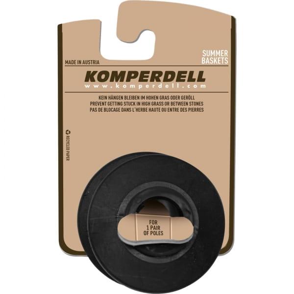 Komperdell Eisflanken Sommerteller - Stockteller schwarz - Bild 1