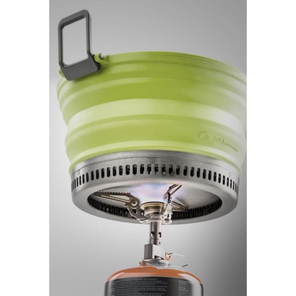 GSI Escape Set - faltbarer Kochtopf und Pfanne green - Bild 10