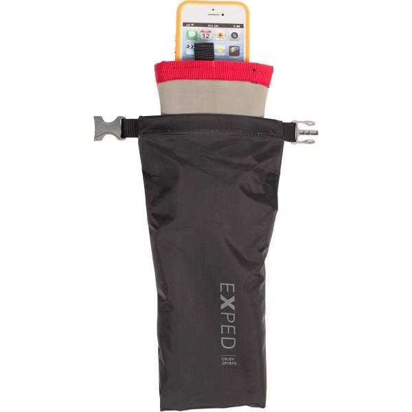 EXPED Crush Drybag 3XS - gepolsterter Packsack black - Bild 1