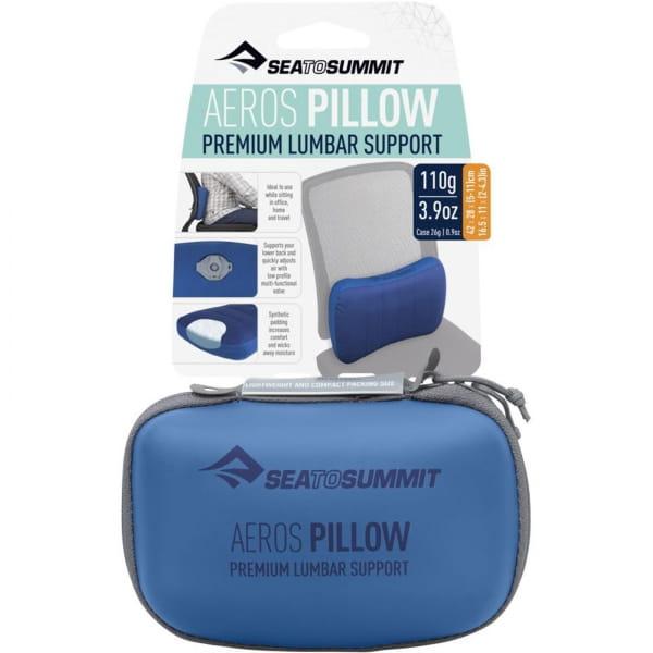 Sea to Summit Aeros Premium Lumbar Support Pillow - Lendenwirbelkissen navy - Bild 8
