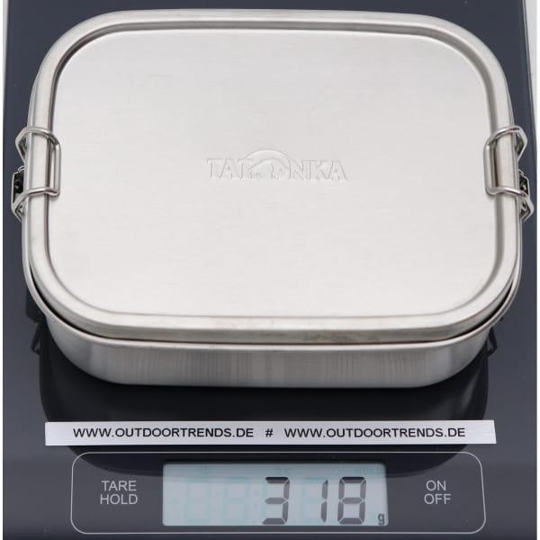 Tatonka Lunch Box II Lock 800 ml - Edelstahl-Proviantdose stainless - Bild 3