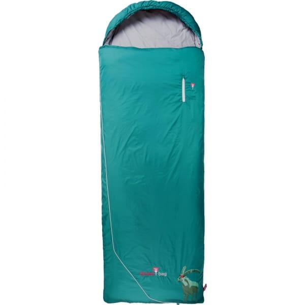 Grüezi Bag Biopod Wolle Goas Comfort - Deckenschlafsack dark petrol - Bild 1