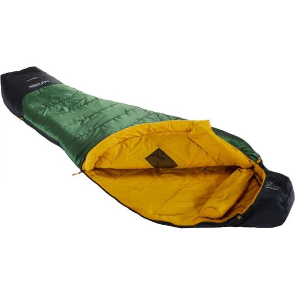 Nordisk Gormsson -2° Mummy - 3-Jahreszeiten-Schlafsack artichoke green-mustard yellow-black - Bild 1