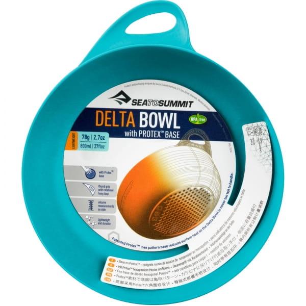 Sea to Summit Delta Bowl - Schüssel pacific blue - Bild 12
