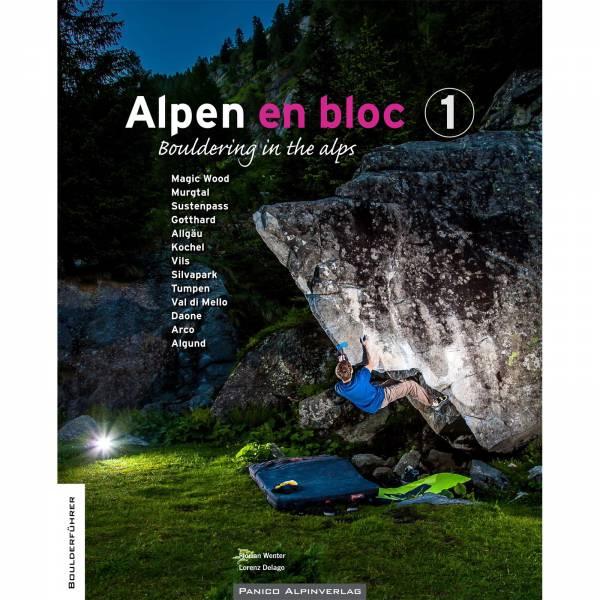 Panico Verlag Alpen en bloc - Band 1 - Boulderführer - Bild 1
