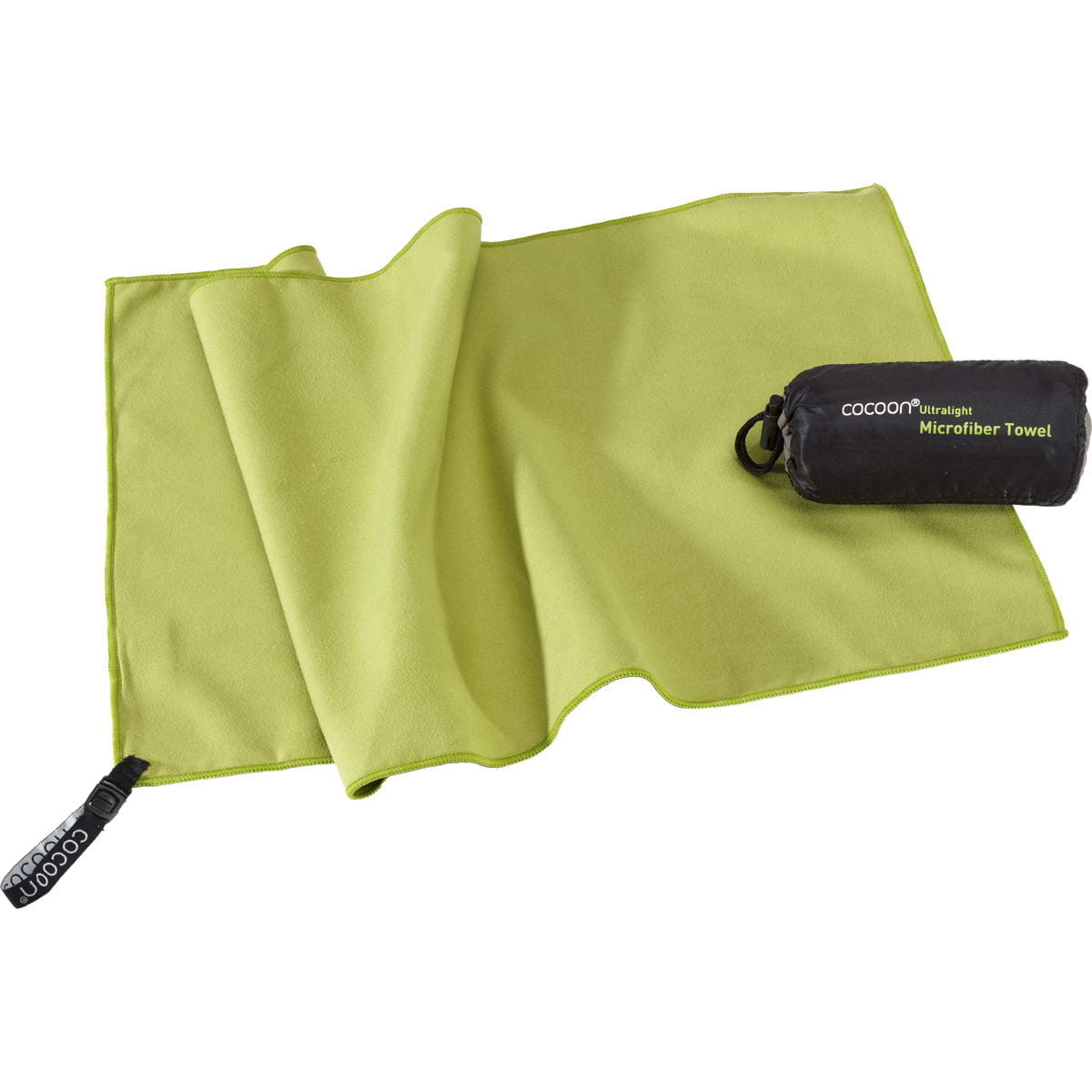 COCOON Towel Ultralight Gr. S - Outdoorhandtuch wasabi - Bild 2