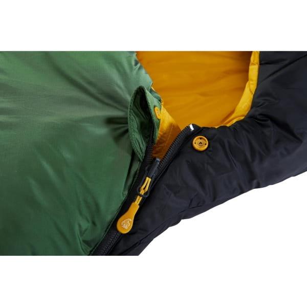 Nordisk Gormsson -2° Mummy - 3-Jahreszeiten-Schlafsack artichoke green-mustard yellow-black - Bild 7