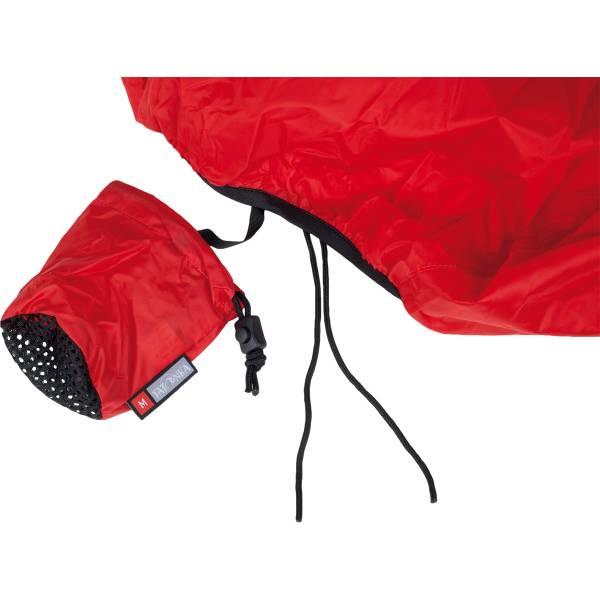 Tatonka Rain Flap M - 40-55 Liter Regenüberzug red - Bild 4