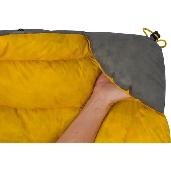 Sea to Summit Ember EbIII Regular - Daunen-Decke dark grey-yellow - Bild 3