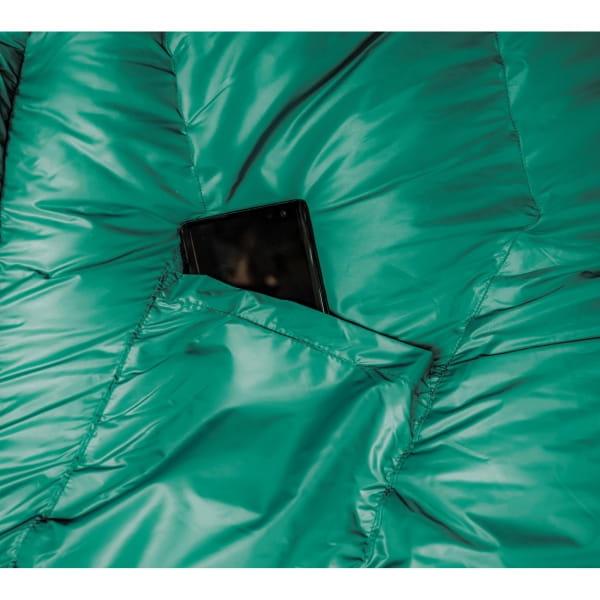 Grüezi Bag Biopod DownWool Subzero - Daunen- & Wollschlafsack pine green - Bild 8