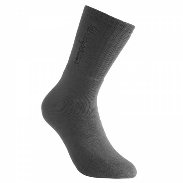 Woolpower Sport Socke mit Logo 400 grau - Bild 2