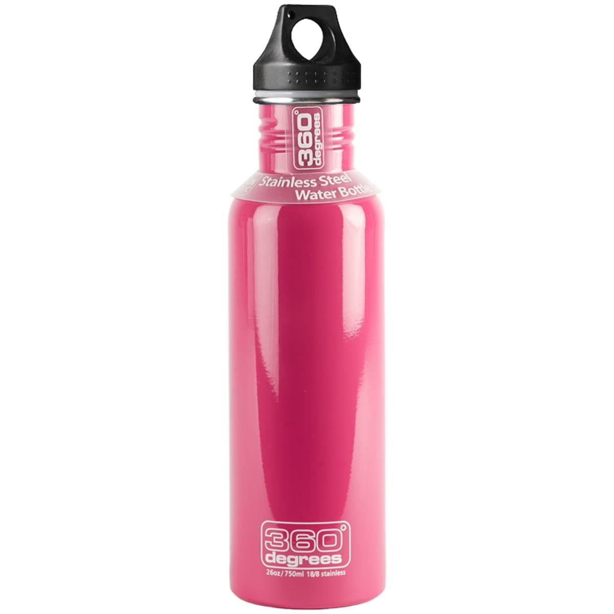 360° degrees Stainless Drink Bottle - 750 ml - Trinkflasche pink - Bild 4