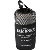 Vorschau: Tatonka Travel Towel Bamboo S - Funktionshandtuch grey - Bild 4