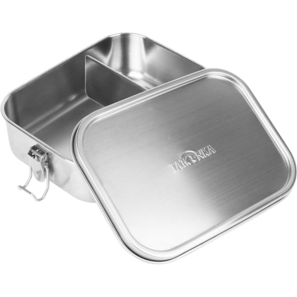 Tatonka Lunch Box II Lock 1000 ml - Edelstahl-Proviantdose stainless - Bild 1