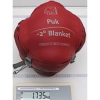 Vorschau: Nordisk Puk -2° Blanket - Decken-Schlafsack sun dried tomato-majolica blue-syrah - Bild 11