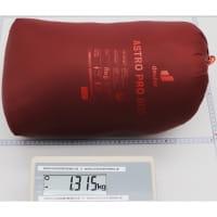 Vorschau: deuter Astro Pro 800 - Daunen-Schlafsack redwood-paprika - Bild 7