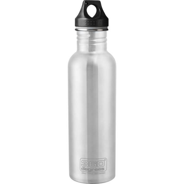 360 degrees Stainless Drink Bottle - 750 ml - Trinkflasche silver - Bild 5